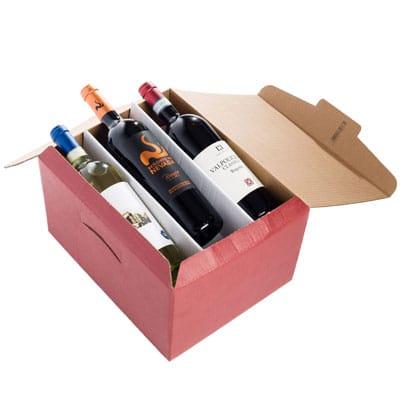 Voorbeeld wijndoos